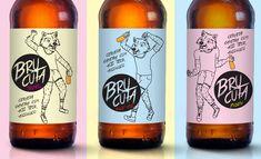 Brucata Beer — The Dieline - Package Design Resource