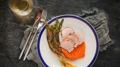 Свиная вырезка с соусом Ромеско рецепт с фото, 102 приготовить Соусы дома от Chefcook Meat, Chicken, Food, Meals, Cubs