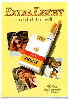 Original-Werbung/ Anzeige 1969 - KRONE CIGARETTEN - ca. 180 x 240 mm