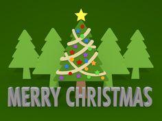木々/クリスマスツリー / クリップアート/画像/アイコン