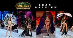 My kind of WoW gear...