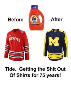 GO BLUE! Okay this is actually really funny! University Of Michigan Athletics, Michigan Wolverines Football, Funny P, Hilarious, Funny Memes, Funny Minion, Michigan Go Blue, Michigan Ohio, Detroit Sports