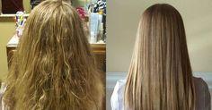 Incrível! Método caseiro para deixar os cabelos bem lisos - # #AlisamentoNatural #beleza #cabelos #cabeloslisos #Conselhosdebeleza #TratamentoNatural