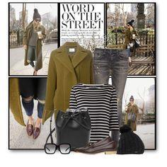 Fall Stroll in Ripped Jeans by brendariley-1 on Polyvore featuring moda, Petit Bateau, Folk, R13, Mansur Gavriel, Burton, Prada and Lux-Art Silks