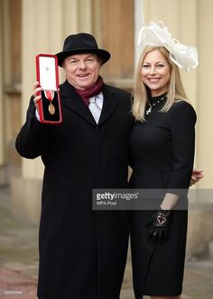 Singer, songwriter and musician Sir Van Morrison at Buckingham Palace, London, with daughter Shana Morrison after he was knighted by the Prince of Wales on February 2016 in London, England. Music Love, Rock Music, My Music, Music Stuff, Van Morrison, Music Guitar, Playing Guitar, In Your Honor, Irish Singers