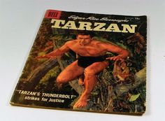 SOLD! TARZAN Comic Book Dell December 1957 #99 Vintage Edgar Rice Burroughs