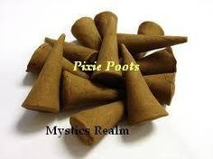 Pixie Poots™ Incense ~ 10 per pack Incense Cones ~ Cone Incense ~ Altar Incense ~ Ritual Incense ~ Mystics Realm ~ Witchcraft Supplies