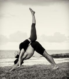 Acro-yoga poses to inspire you. #yoga