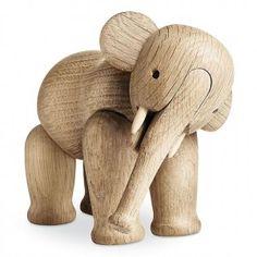 Lille, søte elefant! Til deg eller til barna? Designet av Kay Bojesen selvfølgelig!    Norway Designs