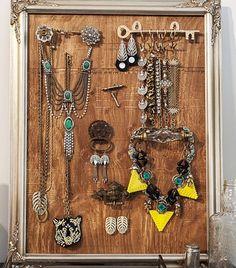 Genius+Ideas+To+Help+You+Organize+Your+Jewelry+via+@WhoWhatWear