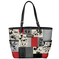 Disney Mickey Mouse & Minnie Mouse Patchwork Handbag by The Bradford Exchange Bradford Exchange http://www.amazon.com/dp/B00PYLAUMS/ref=cm_sw_r_pi_dp_y6Wnvb1C40026