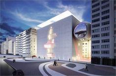 Museu da Imagem e do Som – RJ – Brasil Arquitetura