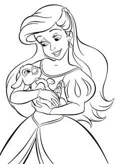 Disney Princess Coloring Pages Disney
