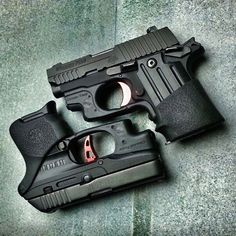 Sig Saur P238 & Ruger LCP with Crimson Trace mom has this one I think I like it!
