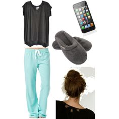 """Sleepover with the girls!"" by ohaidevyn on Polyvore"