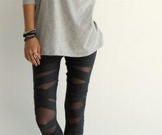 love love love these wrap leggings.