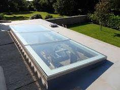 Multi-part and bespoke rooflight designs from AstroGlaze. Pergola Plans, Diy Pergola, Pergola Kits, Skylight Glass, Glass Roof, Flat Roof Skylights, Roof Light, Sun Light, Roof Window