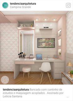 Room Design Bedroom, Girl Bedroom Designs, Room Ideas Bedroom, Home Room Design, Small Room Bedroom, Bedroom Decor, Beauty Room Decor, Teen Room Decor, Pinterest Room Decor