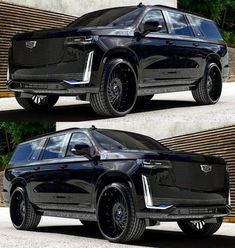Best Luxury Cars, Luxury Suv, Custom Pickup Trucks, Black Audi, Maserati Granturismo, Lux Cars, Engin, Cadillac Escalade, Expensive Cars