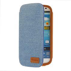 Denim Fabric patroon beschermende Tas voor Samsung Galaxy S3 I9300 – EUR € 22.76