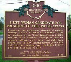Another Hillary Lie...she isn't the first woman nominated to run for president.