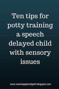 Potty training advice for parents with children with special needs