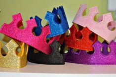 Keçeden Taç Yapımı Modelleri, İsimli, Kral, Prenses, Bebek Taç Modelleri