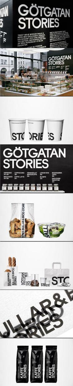 Götgatan Stories branding #cafe #deli