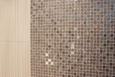 Rivestimento bagno in mosaico Linea Four Seasons by Ceramiche Supergres #grescollection #piastrellebagno #cersaie2012