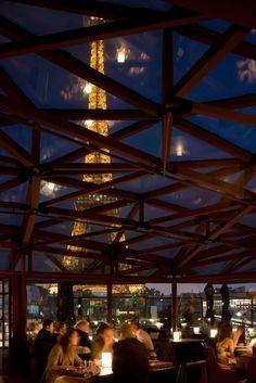 Restaurant Les Ombres, 7e Paris