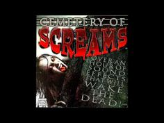 Cemetery Of Screams Halloween Sounds, Spooky Halloween, Sound Effects, Cemetery, Scream, Neon Signs, Movie Posters, Youtube, Art