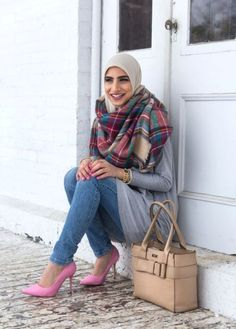 Winter hijab outfits in prude and style looks – Just Trendy Girls