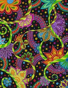 """thelookingglassgallery:  """"Flower Power"""" by Liquid-Mushroom"""