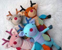 Ripley the Reindeer PDF Sewing Pattern