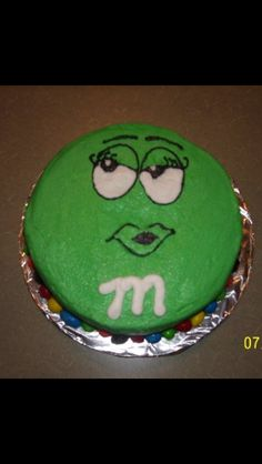 green M M cake food Pinterest Cake Gorgeous cakes and