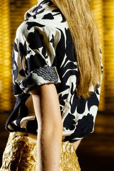 Dries Van Noten Spring 2014 details, very proud to be from the same country as him