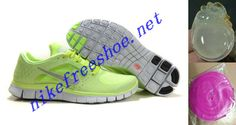 Nike Free Run 3 Liquid Lime Silver Pro Platinum Volt