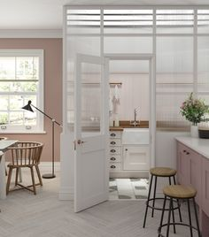 Designing a utility room, whether to complement an open plan kitchen diner or as part of a new kitchen extension? Check out these ideas. Kitchen Cost, Hidden Kitchen, Open Plan Kitchen, Country Kitchen, New Kitchen, Kitchen Decor, Kitchen Ideas, Kitchen Inspiration, Vintage Kitchen