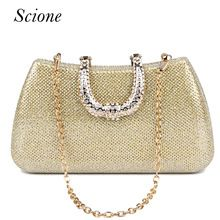 Women's Bags Independent Sekusa Acrylic Candy Color Clutch Bag Lady Party Wedding Evening Bag Shoulder Chain Purse Handbags For 2017 Women Evening Bags