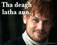 Scottish Quotes, Scottish Gaelic, Gaelic Words, Outlander Tv Series, Sam Heughan Outlander, World Languages, Language Lessons, Grammar, Celtic
