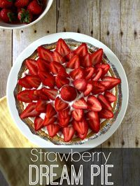 My easy Strawberry Pie recipe has a graham cracker crust, cream cheese filling and a sweet strawberry topping. You'll be savoring every bite!