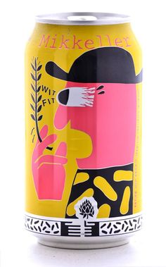 Wit Fit - Imperial American Wit Beer brewed with spices. Mikkeller Brewing, Denmark (12oz 6.2%) May 2015
