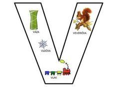 Pismenka - Modrý koník Alphabet Worksheets, Preschool Worksheets, Preschool Themes, Language, Teacher, Letters, Puzzle, Education, Felt Toys