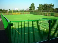 MUGA Pitch, Multi-Use Games Areas, AMV Playgrounds.