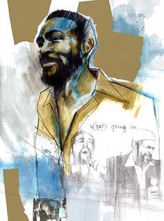 ritratto - marvin gaye -