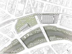 Galería de Los 15 mejores proyectos de fin de carrera diseñados por estudiantes… Project Presentation, City Photo, Tower, How To Plan, Architecture, Building, Landscape, Simple Designs, Architectural Firm