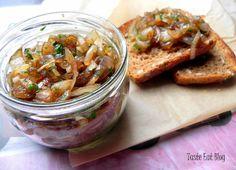 Taste Eat: Konfitura z cebuli z czosnkiem i pietruszką