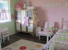 Little Girls Bedroom Pink Design Ideas, Pictures, Remodel, and Decor - page 13
