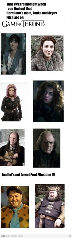 I only knew about Tonks and Filch...
