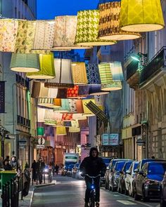 """Hello, Paris! Why can't High Point craft visionary installations like this to celebrate our """"furniture capital of the world"""" status? @visithighpoint #style #decooff #color #patter"""